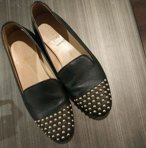 J.Crew Navy Darby Studded Loafers